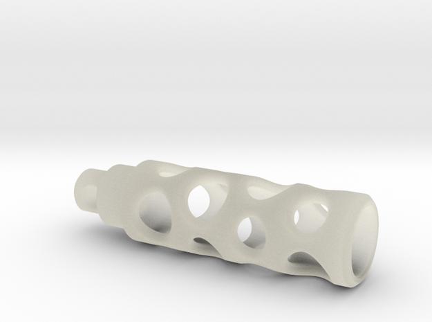 Tritium Lantern 1A (Silver/Brass/Plastic) 3d printed