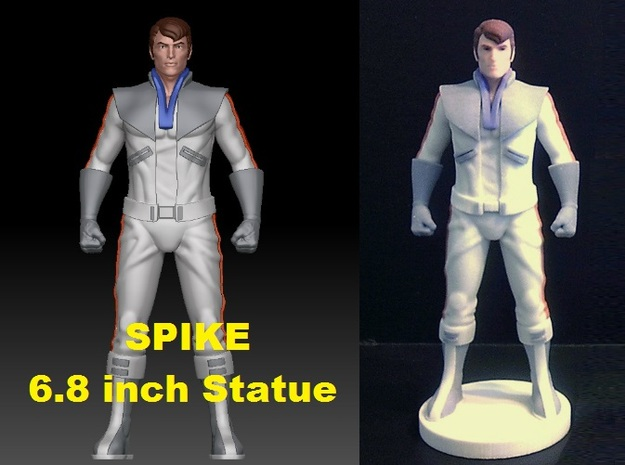 Spike homage Space Man 6.8inch Full Color Statue