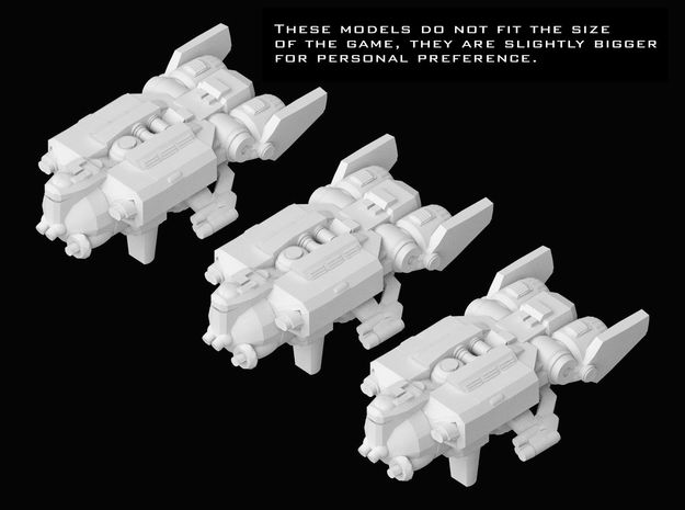 (Armada) 3x YV-929