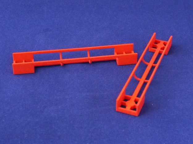 Marble Run Bricks: Straight Track Set