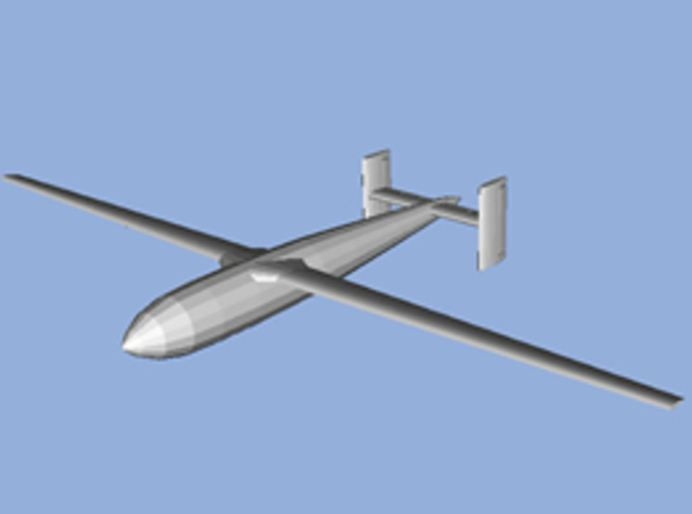 1/144 scale Bv246 gliding bomb 3d printed