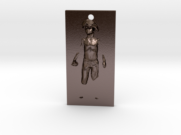 Boy Soldier Panel Pendant