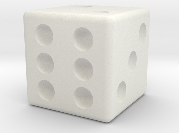 16mm Die in White Strong & Flexible