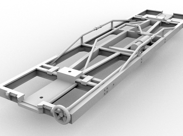 4-Pack Puffing Billy Standard Underframe(O/1:48)  3d printed
