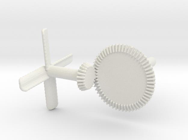 mechanical fan in White Natural Versatile Plastic