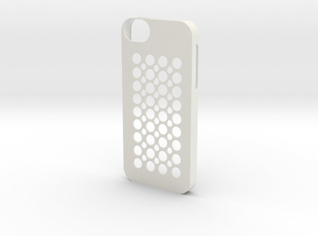 iphone 5 case (cover) in White Natural Versatile Plastic