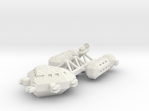Morgat Heavy Frigate in White Natural Versatile Plastic