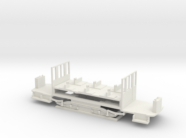 Fahrgestell TW 101-240 in White Natural Versatile Plastic