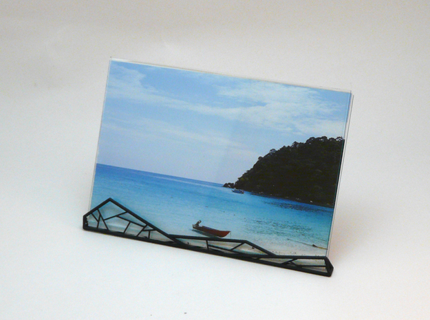 A.N. Photo Frame in White Natural Versatile Plastic