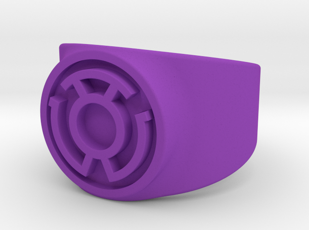 Sinestro Yellow Fear GL Ring Sz 9 3d printed
