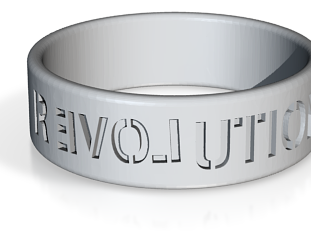 Ron/Rand Paul Revolution Ring 3d printed