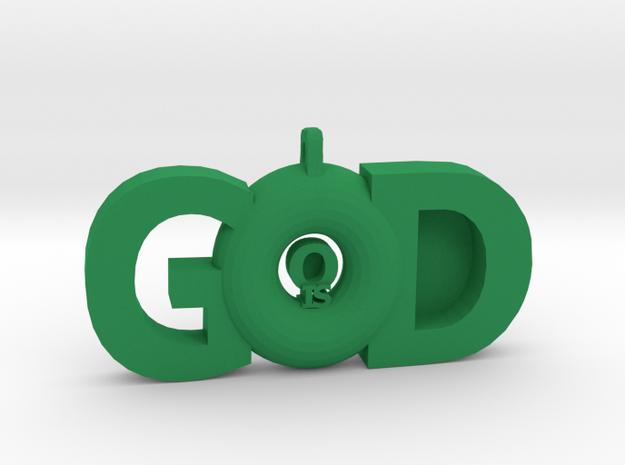 GODisGOOD in Green Processed Versatile Plastic