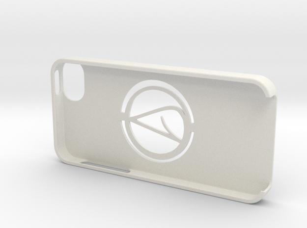 iPhone 5 Case with Atheism Symbol in White Natural Versatile Plastic