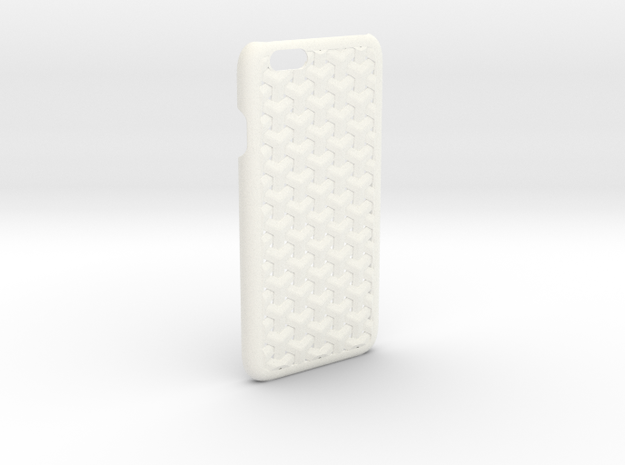 Iphone6 Id 2 in White Strong & Flexible Polished