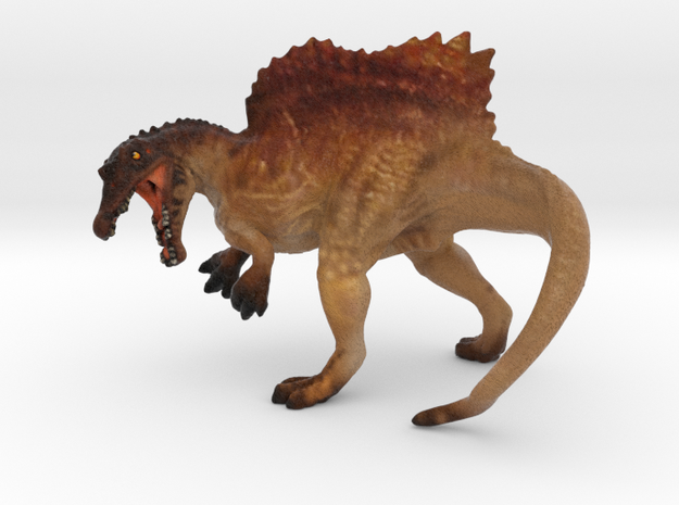 Spinosaurus Color in Full Color Sandstone