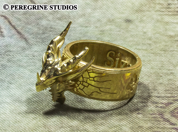 Ring - Deathring the Destroyer (Size 13)