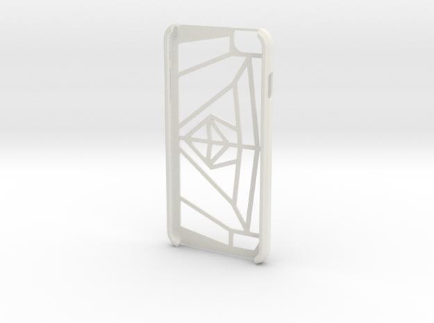iPhone 6 Plus Case  in White Natural Versatile Plastic