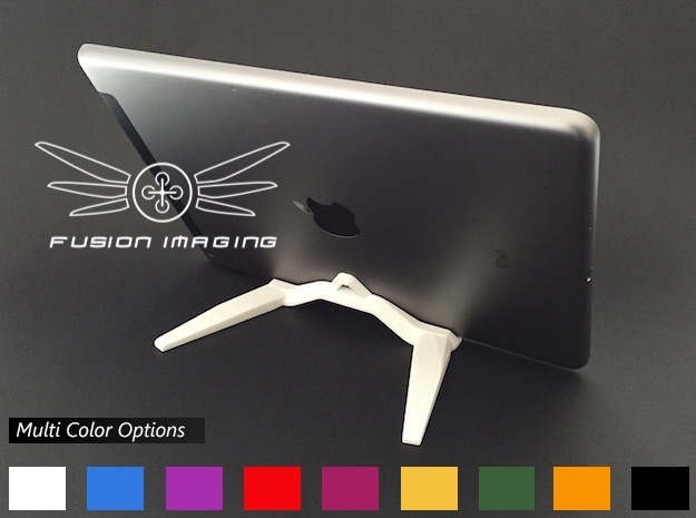iPad / Tablet Stand in White Strong & Flexible Polished