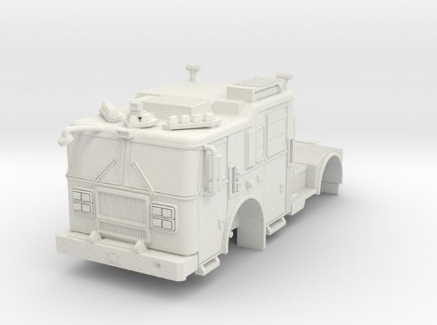 1/87 HO Seagrave Marauder II TDA Tractor in White Natural Versatile Plastic