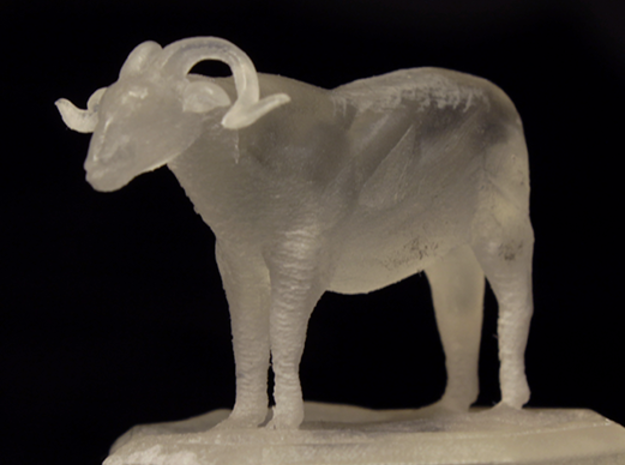 Sheep Figurine in Frosted Ultra Detail