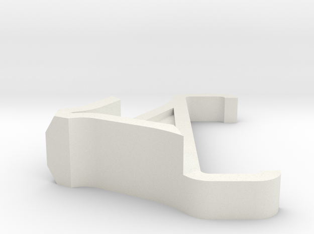 Iphone Stand Mod in White Natural Versatile Plastic