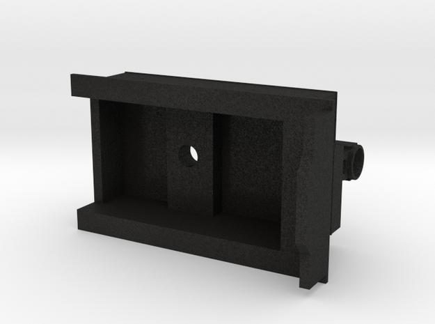 3D Garrat Carbonera in Black Acrylic