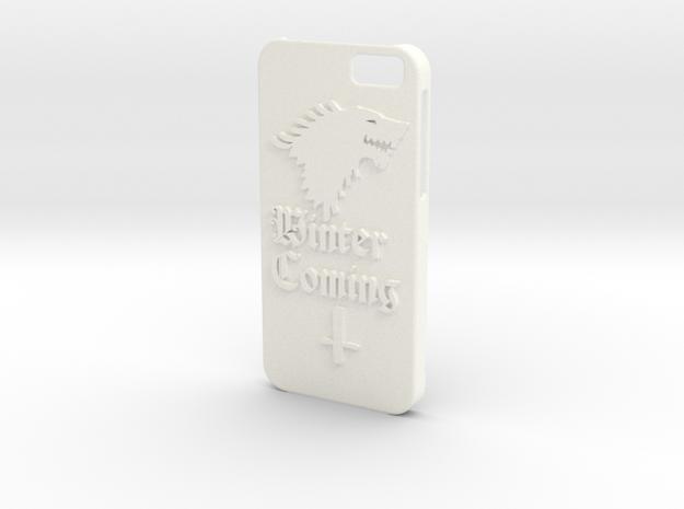 Game of Thrones Iphone6 case in White Processed Versatile Plastic