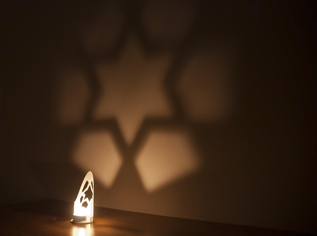 Star wall projection