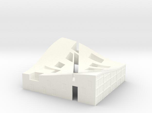 MiniNL Funen(1:500) in White Processed Versatile Plastic