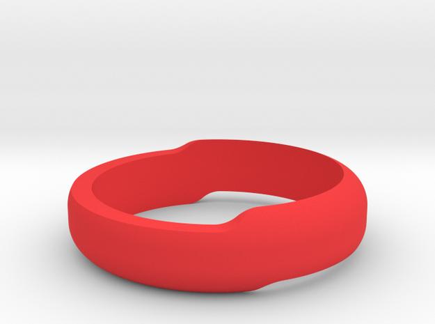 Minimal Bracelet (Small) in Red Processed Versatile Plastic