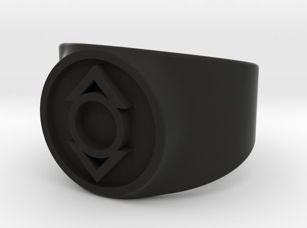 Indigo Tribe Compassion GL Ring Sz 9 3d printed
