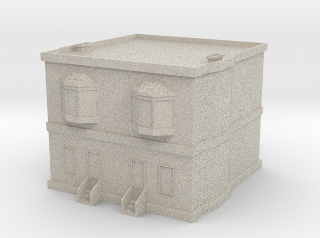 Duplex in Natural Sandstone