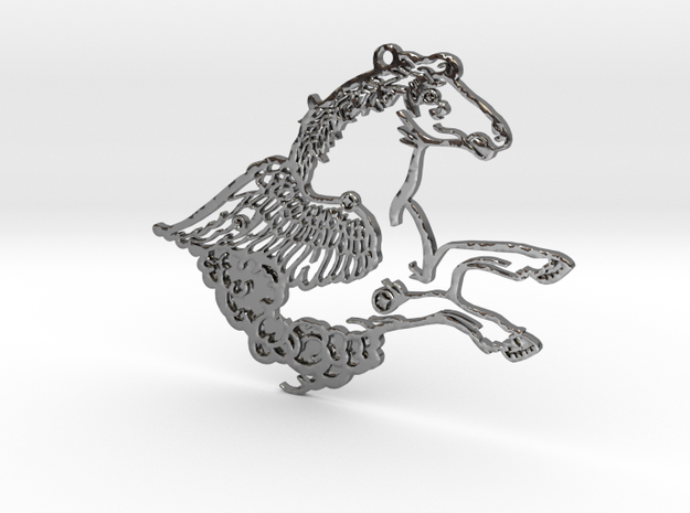 Grand Central Constellations - Pegasus in Fine Detail Polished Silver