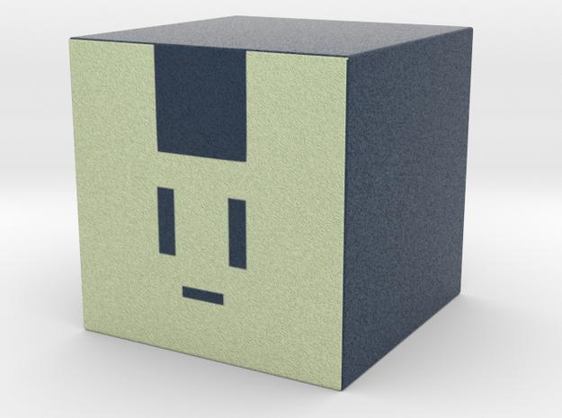 Alternative Noisy little cube cosplay prop in Full Color Sandstone