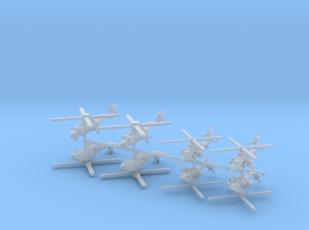 1/700 French Naval Aviation Kit 1 in Smooth Fine Detail Plastic