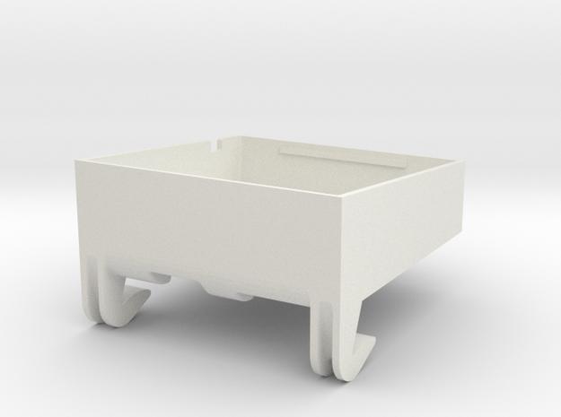 SP3 Duct DP in White Natural Versatile Plastic
