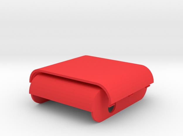 Box Pannel in Red Processed Versatile Plastic