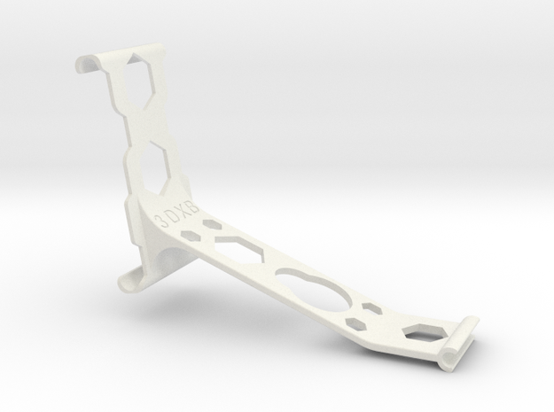 iPhone 6 Plus remote arm Bumper in White Natural Versatile Plastic