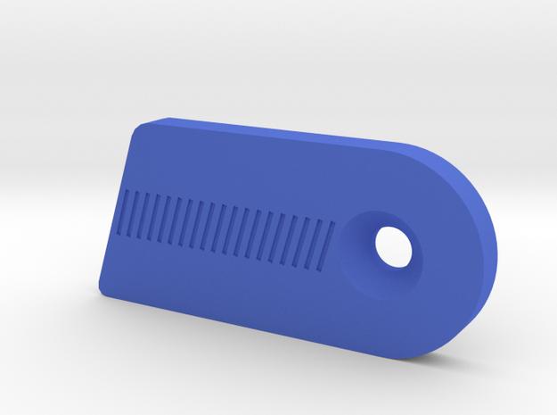 Cartel Fantom Clicker Ext Plate RH in Blue Processed Versatile Plastic