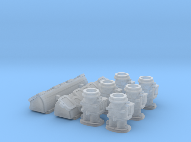 1/12 392 Hemi 6X2 Induction Kit 3d printed