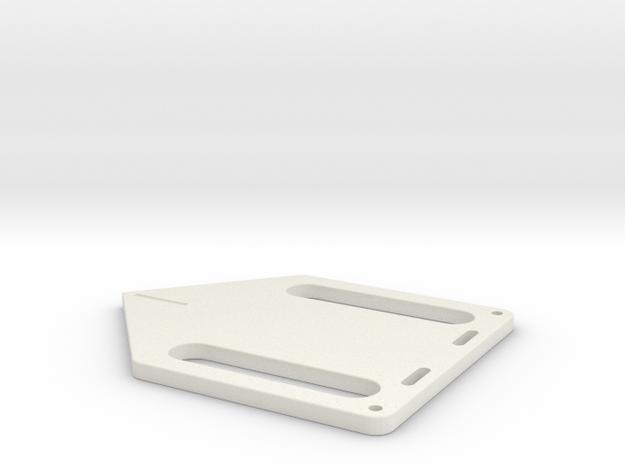 Nav Board DSS in White Natural Versatile Plastic