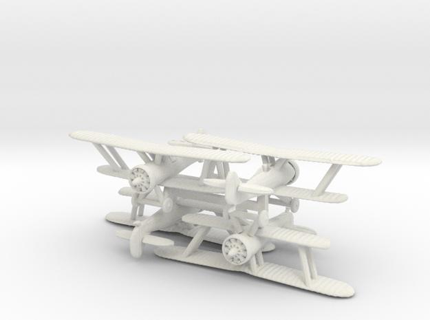 1/300 Polikarpov I-5 (late) x4 in White Natural Versatile Plastic