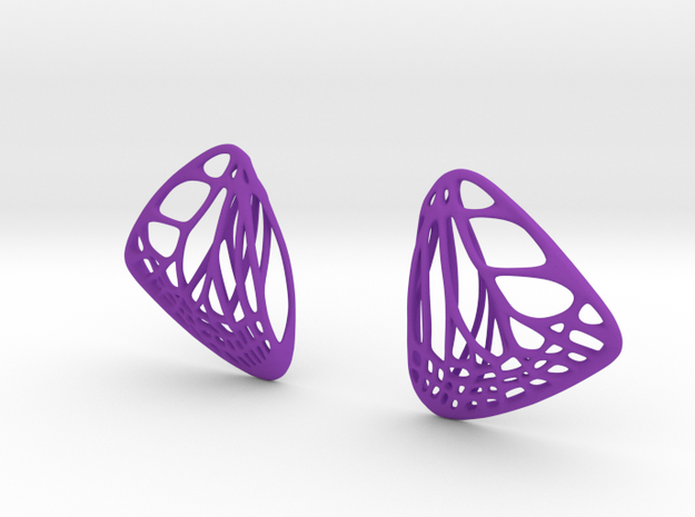 Butterfly Earrings (S) Plastic