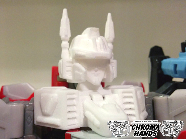 Energon Superion Head & Neck ONLY Upgrade