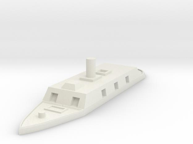 1/600 CSS Arkansas  in White Natural Versatile Plastic