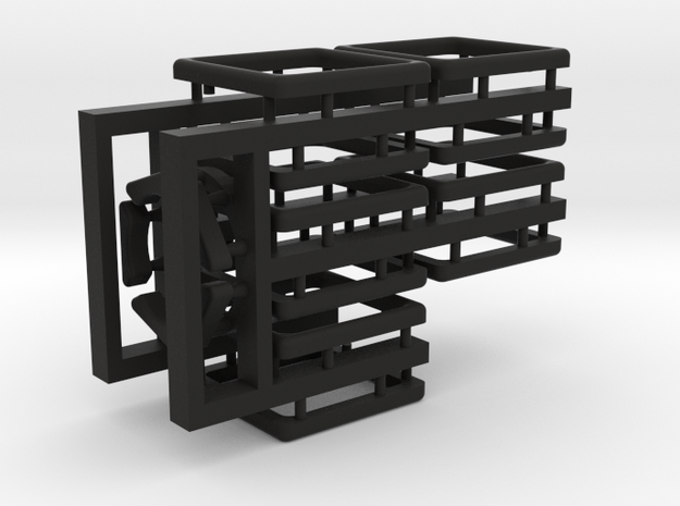 Tiles for the Multi-Gear Cube Kit in Black Strong & Flexible