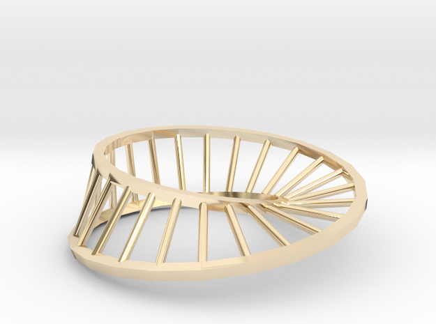 Moebius Ring | Inside-out a1 3d printed