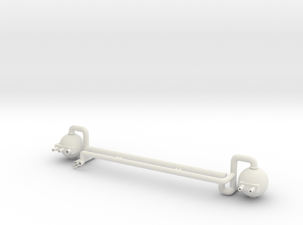 Fuel Manifold Fwd V0.2 in White Natural Versatile Plastic