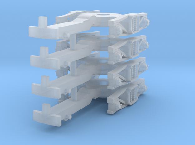 ZB (H0e) - 2P Drehgestelle für 4-ax Gw (alt) in Frosted Ultra Detail