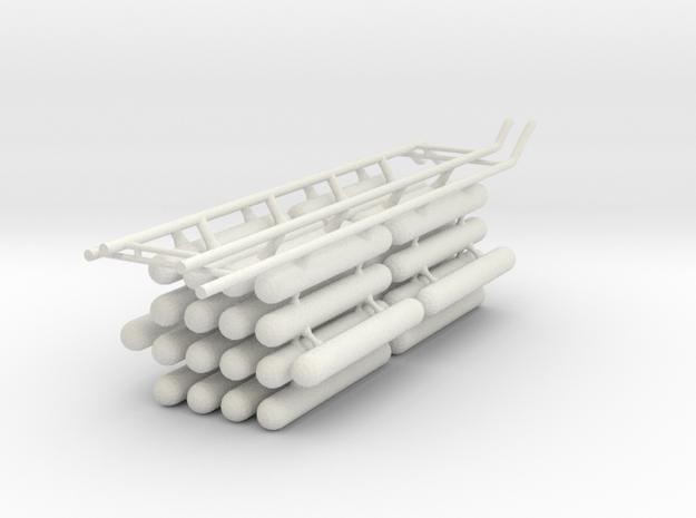 Tanks A Fwd V0.7c in White Natural Versatile Plastic